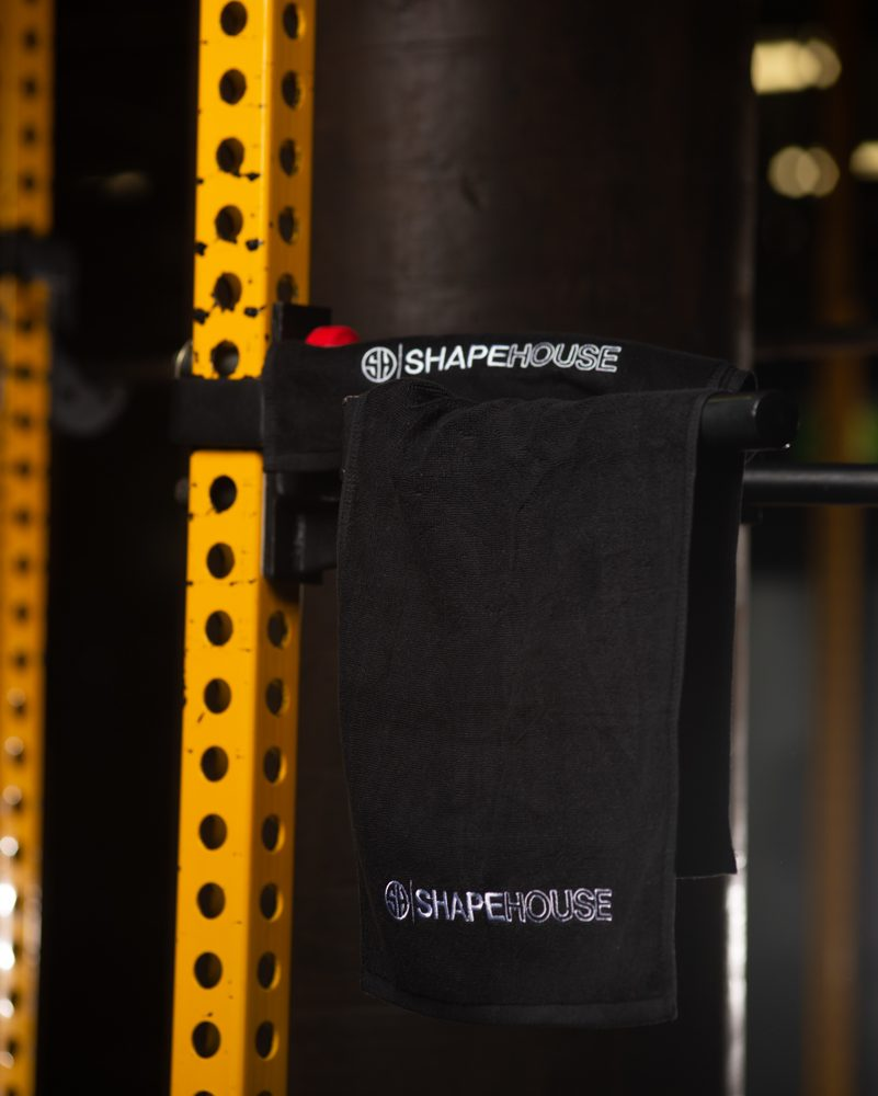 Gym Towel – Black SHAPEHOUSE