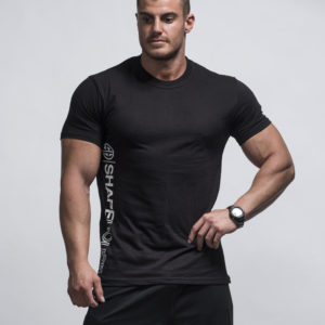 T-Shirt – Corey Muscle Black