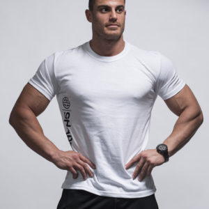 T-Shirt – Corey Muscle White