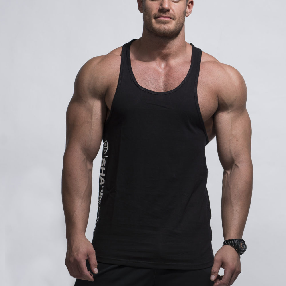 Singlet Y-Back – Flex Black